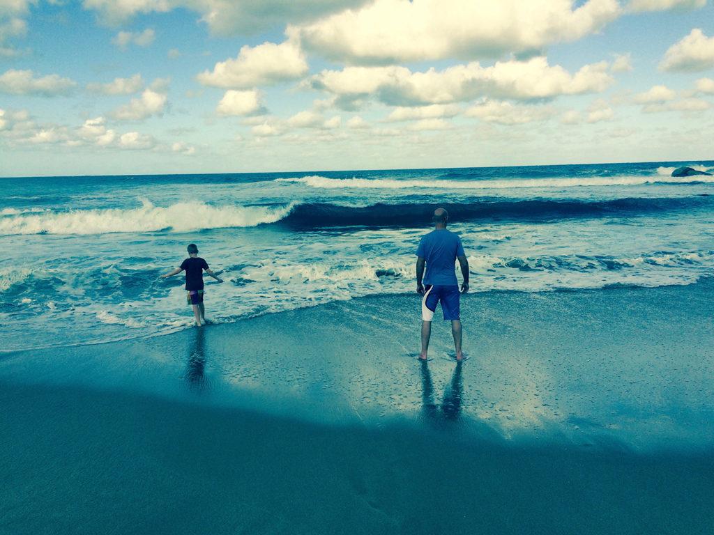 Margate Beach Scene