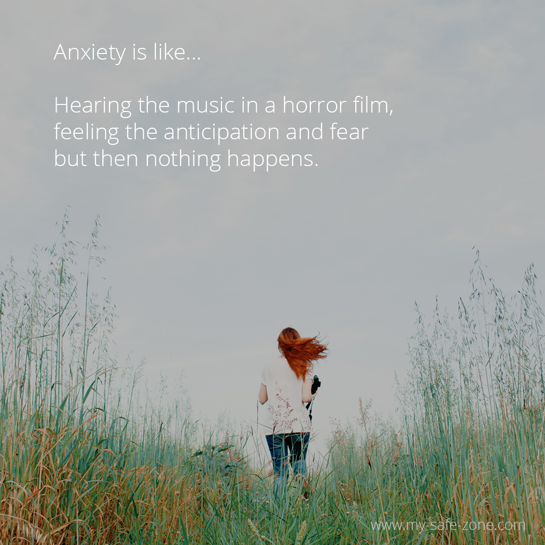 Anxiety is like