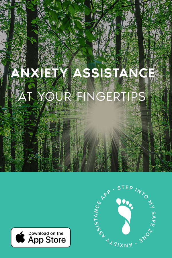 Anxiety assistance app available on the app store